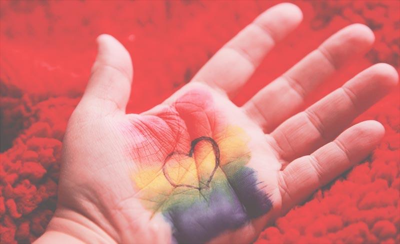 Welt retten - Hand aufs Herz