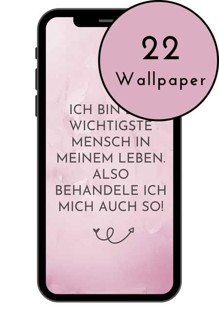 Produktbild Selbstliebe Wallpaper